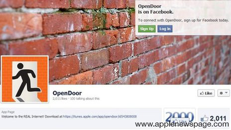 Open Door Facebook Page